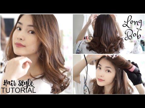 Cách Làm Tóc Xoăn Bồng Bềnh Cho Tóc Ngắn và Mỏng ♥ LONG BOB HAIR STYLE TUTORIAL | mattalehang - Thời lượng: 9 phút, 3 giây.