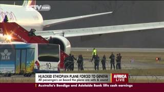 Hijacked Ethiopian Plane Lands At Geneva
