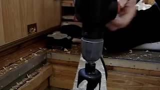 10. Skil Torro - сверление коронка для врезки замка 52мм