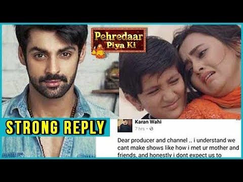 Karan Wahi Gives The BEST ANSWER To The Makers Of