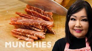 Maangchi's Korean Beef Bulgogi Wraps - How To by Munchies
