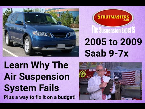 Switching To A Coil Spring Suspension From An Air Suspension On The 2002-2009 Saab 9-7x