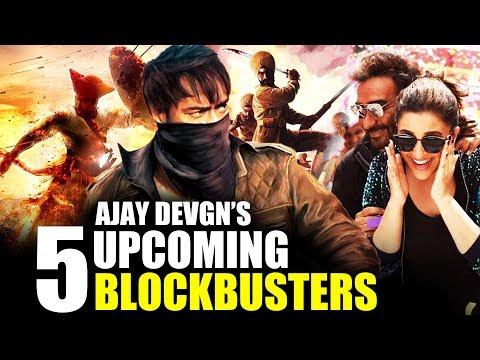 Video Ajay Devgn's Upcoming 5 Blockbuster Movies In 2017, 2018, 2019 download in MP3, 3GP, MP4, WEBM, AVI, FLV January 2017