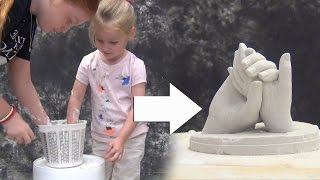 Lifecasting Tutorial: Molding Kids' Hands