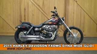 9. New 2015 Harley Davidson Wide Glide Motorcycles for sale