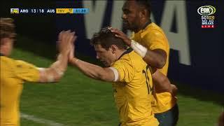Argentina v Australia 2nd Test Rugby Championship 2017 Video Highlights