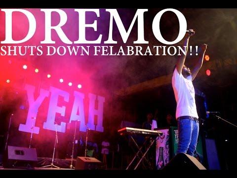 Dremo puts up energetic performance at Felabration  #Felabration2016