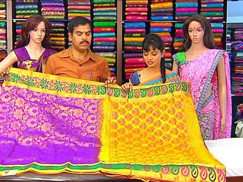 Bridal Collection of Light Weight Kanchi Pattu and Designer Sarees | Sogasu Chuda Tarama 19 November 2015 04 23 PM