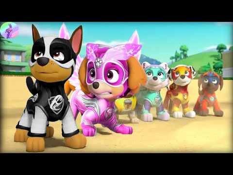PAW Patrol Mighty Pups Save Adventure Bay! - Full Episodes Games #23 - Nick Jr HD