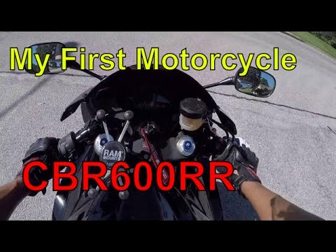 Video My first motorcycle CBR600RR download in MP3, 3GP, MP4, WEBM, AVI, FLV January 2017