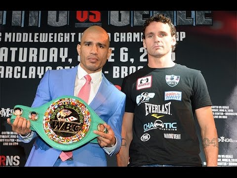 Boxing LIVE STREAM Cotto Vs Geale Official Weigh In