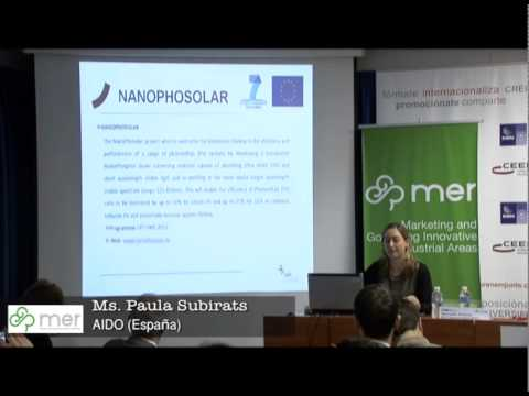 Paula Subirats, AIDO (España) - Workshop Valencia MER Project