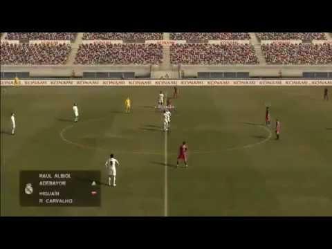 (yo) Real Madrid 7-0 Barcelona PES 2011 ONLINE