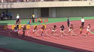 【日本インカレ 陸上】男子100m 桐生祥秀 大会新で制す!