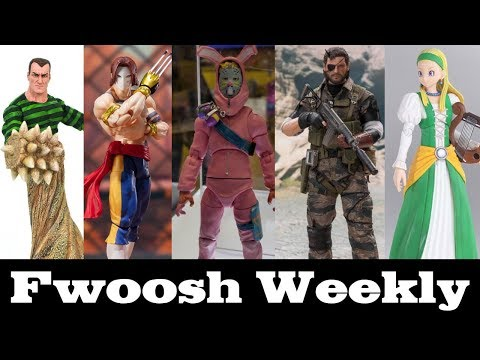 Weekly! Ep100: Jazwares Fortnite, SHF Vega And Yoda, Sandman, Dragon Quest, Venom Snake And More!