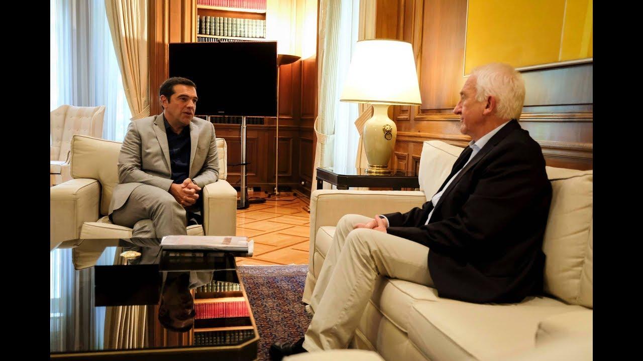 Συνάντηση με τον καθηγητή Δρ. Γιόχαν Γκέοργκ Γκόλνταμερ