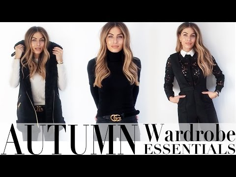AUTUMN WARDROBE ESSENTIALS | Lydia Elise Millen видео