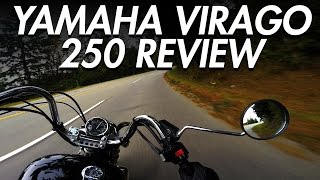 1. Yamaha Virago 250 Review | Best Beginner Cruiser Motorcycle - LIFE OF BRI