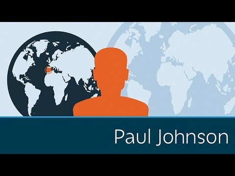 PAUL JOHNSON - Dennis inaugurates a new feature of Prager University: Wisdom of the Masters, interviews with some of the finest minds in the world. First up, influential Br...