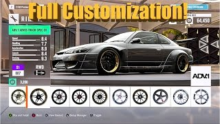 Forza Horizon 3 EXCLUSIVE Customization! Rocket Bunny S15 Quad Rotor Drift Build