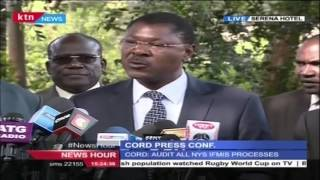 CORD's Press Conference in Response to President Kenyatta's State of the Nation Address