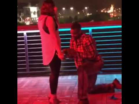 Guy Twerks After His Proposal