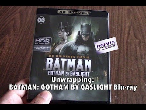 Unwrapping | BATMAN: GOTHAM BY GASLIGHT Blu Ray