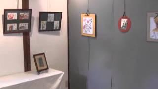 ねぎぼうずの会パステル画絵手紙展(小弓の庄)