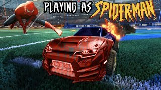 *OMG* PLAYING AS 'SPIDER-MAN' IN ROCKET LEAGUE!! CHARACTER CARS!! (EP. 3)Here is the link where you can buy items on Rocket League on all platforms! Make sure to use promo code SAVAGE if you make a purchase!https://goo.gl/PkNWvQMake sure to thumbs up and subscribe for more streams, videos, and giveaways! :DSUBSCRIBE -- https://goo.gl/whS19zTwitter: https://twitter.com/SavagePlanet_RLIf you want to help the stream out, you can donate here :) https://youtube.streamlabs.com/savageplanetCHECK OUT MY PREVIOUS VIDEOS:Top 5 Overdrive Crate Openings (Painted Exotics Edition) -- https://goo.gl/mzgJjxSix New Painted Cars Coming To Rocket League -- https://goo.gl/djELnXCrate Wars vs. Jakrs -- https://goo.gl/EhK3QKBiggest Donation on Rocket League Part 3 -- https://goo.gl/TWgxr8Painted Octane Coming To Rocket League -- https://goo.gl/qyymTqTop 5 Overdrive Crate Openings! Painted Animus Edition -- https://goo.gl/XCQYvETop 5 Overdrive Crate Openings! Painted Centio Edition -- https://goo.gl/jY1XZ2Top 5 Overdrive Crate Openings! Goal Explosions Edition -- https://goo.gl/xiJT7fOverdrive Crate Trading Guide -- https://goo.gl/3Y6vnoTop Overdrive Crate Openings Ever -- https://goo.gl/svm18ALuckiest Overdrive Crate Opening -- https://goo.gl/AVoSyuBest Overdrive Crate Opening -- https://goo.gl/DwEXZ5Full Overdrive Crate Update Stream -- https://goo.gl/yFgWKDEarly Look at Overdrive Crate -- https://goo.gl/jDYGQSBest Trade Ups on Rocket League -- https://goo.gl/FC2dahPlaying As America On Rocket League -- https://goo.gl/ce92fWFourth Mystery Goal Explosion on Rocket League -- https://goo.gl/bsU2yZBiggest Donation on Rocket League Part 2 -- https://goo.gl/54a8E5Playing Rocket League as a Minion -- https://goo.gl/gEzvcePing Pong Mode On Rocket League -- https://goo.gl/AFWr5BNew Secret Items Coming to Rocket League -- https://goo.gl/oGsdRcTop 5 Nitro Crate Trade-Ups (Painted Dracos) -- https://goo.gl/J112BjFidget Spinner Wheels on Rocket League -- https://goo.gl/Yo5h4j50 Nitro Crate Opening -