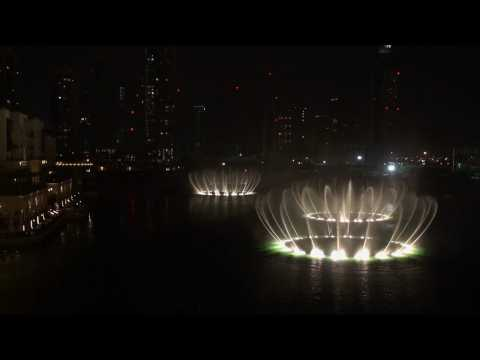 Amazing Dubai Fountain