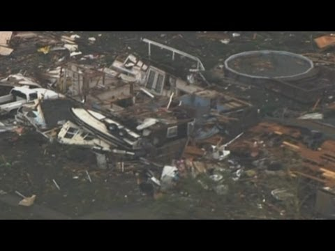 Disaster - A two-mile-wide tornado tore through the Oklahoma City suburb of Moore on Monday, killing at least 51 people while destroying entire tracts of homes and trap...