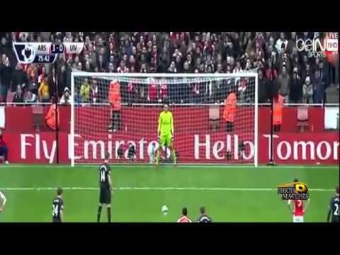 arsenal liverpool 4-1 highlights