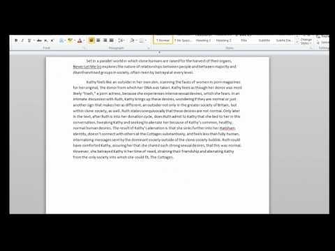 ap english essay 2007 form b