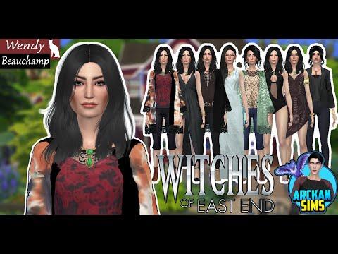 WITCHES OF EAST END PART 2 // WENDY BEAUCHAMP (The Bridge) - Sims 4 Create a Sim // W.O.E.E sims 4