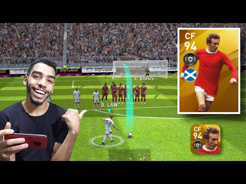 D. LAW 94 Rated Review 🔥 insane  finisher 😱 eFootball pes 20 mobile