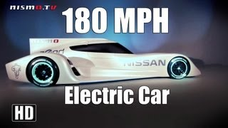 Fastest Electric Car in the World - Nissan ZEOD RC