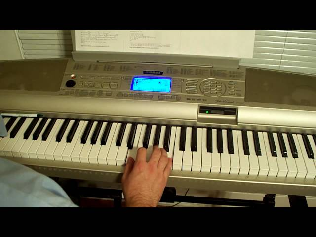 How To Play Be My Escape By Relient K On Piano With Chords Part 2