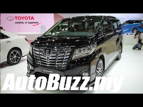 2015 Toyota Alphard First Look at Bangkok Motor Show - AutoBuzz.my