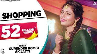 Video Shopping (Full Video) | Surender Romio | Ak Jatti, Anamika Bawa | New Haryanvi Song DJ Songs 2020 download in MP3, 3GP, MP4, WEBM, AVI, FLV January 2017
