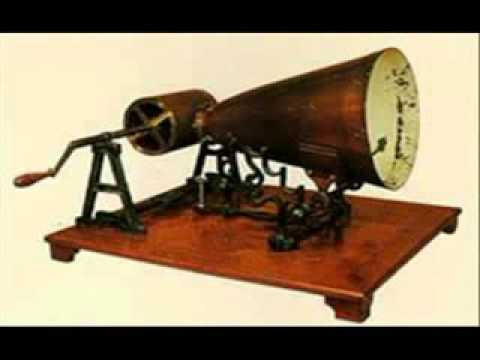 Самая первая аудиозапись в истории человечества! / First ever recording in history!