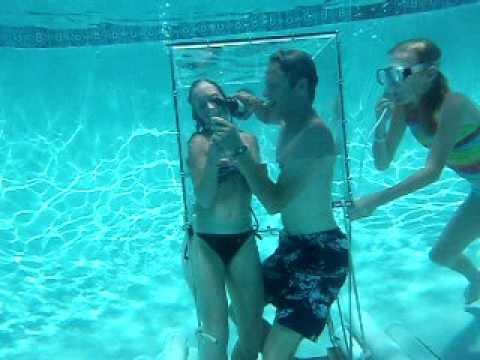 Underwater wine tasting, Orange Park, Jacksonville, pool party idea,  fun pool toy, fun pool game.