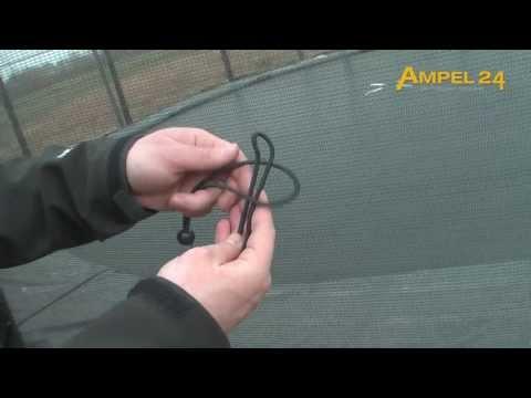 Ampel 24 Gummispanner für Netz und Randabdeckung
