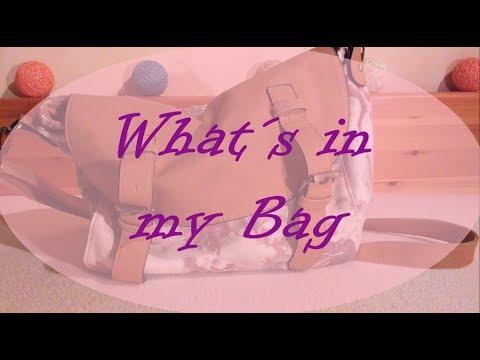 What´s in my Bag   Was habe ich alles in meiner Handtasche?   FranzisBeautySecrets
