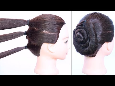 Short hair styles - new easy hairstyle trick  wedding hairstyles  party hairstyles  simple hairstyles  hairstyle