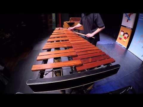 Siptár Bence marimba produkciójának GoPro kamerás felvétele