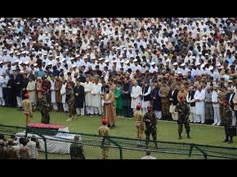 Abdul Sattar Edhi Janaza Video (видео)