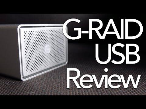 G-Technology G-RAID USB Hard Drive Review