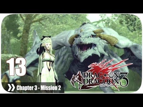 ドラッグ オン ドラグーン3 (Drakengard 3) - Pt. 13 [Chapter 3 '森の国' Mission 2] (видео)