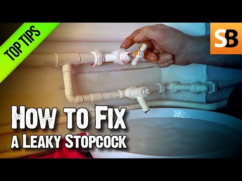 How to Fix a Leaky Stopcock & Stop Dripping Water