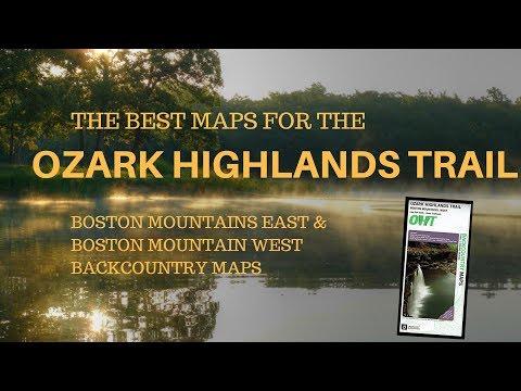 Best maps for the Ozark Highlands Trail.
